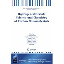 Hydrogen Materials Science and Chemistry of Carbon Nanomaterials (Nato Security through Science Series A:)